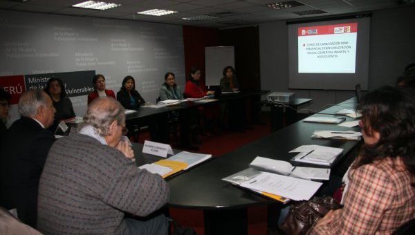 COURSE ON COMMERCIAL SEXUAL EXPLOITATION OF CHILDREN AND ADOLESCENTS IN PERU