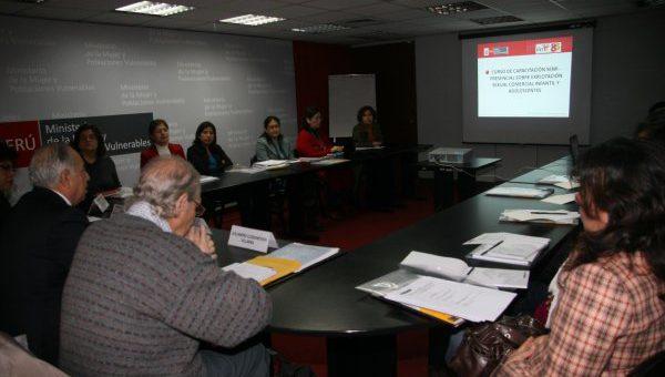 Curso sobre explotación sexual comercial de niños, niñas y adolescentes en Perú